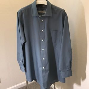 David Taylor Men's Long Sleeve Button Front Shirt